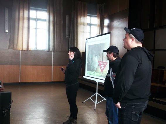 Школьники Димитрова узнали алгоритм поведения в чрезвычайных ситуациях (фото) - фото 1