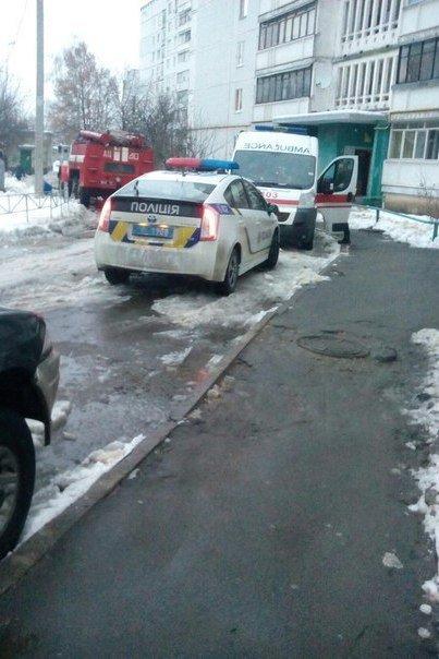 В Харькове горела жилая многоэтажка (ФОТО) (фото) - фото 1