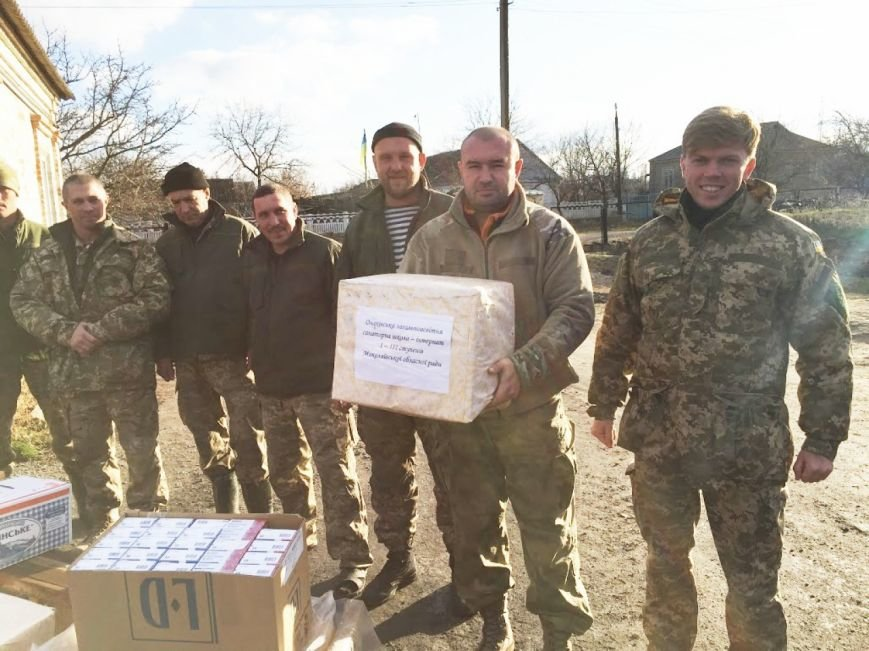 «Согрей солдата»: военным в Мариуполь доставили гуманитарную помощь от николаевцев (ФОТО) (фото) - фото 1