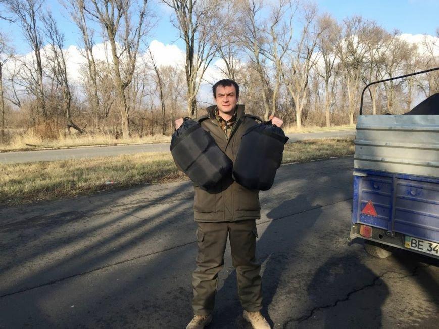 «Согрей солдата»: военным в Мариуполь доставили гуманитарную помощь от николаевцев (ФОТО) (фото) - фото 3