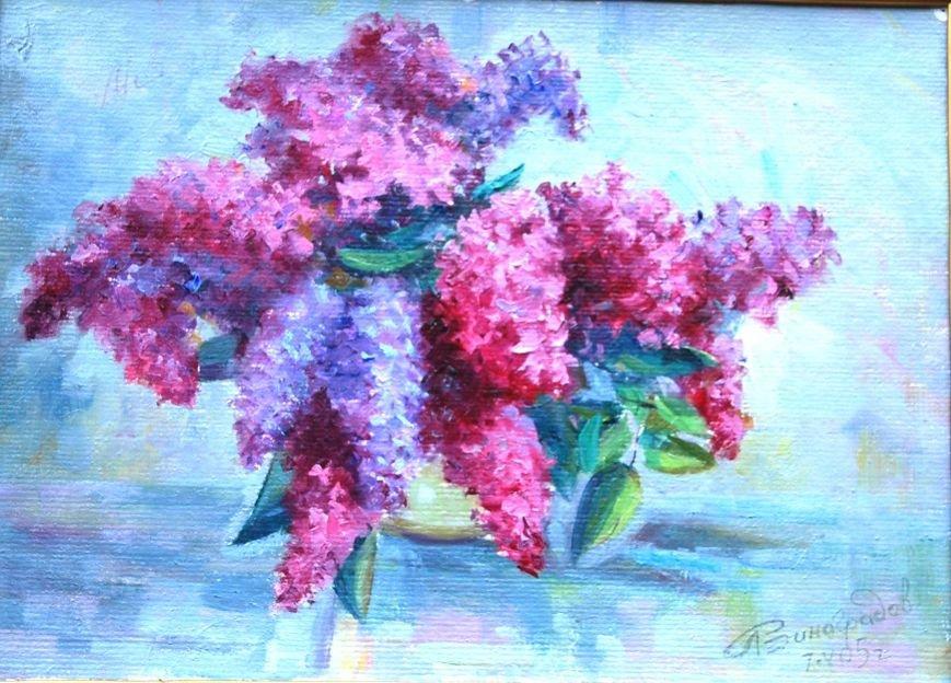 Мариупольский художник выращивал цветы для своих натюрмортов, чтобы их увековечить (ФОТОРЕПОРТАЖ) (фото) - фото 1