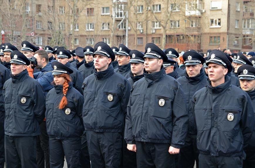 Николаевские полицейские приняли присягу под звуки гимна и возгласы «Слава Украине!» (ФОТО+ВИДЕО), фото-10