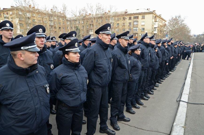 Николаевские полицейские приняли присягу под звуки гимна и возгласы «Слава Украине!» (ФОТО+ВИДЕО), фото-5