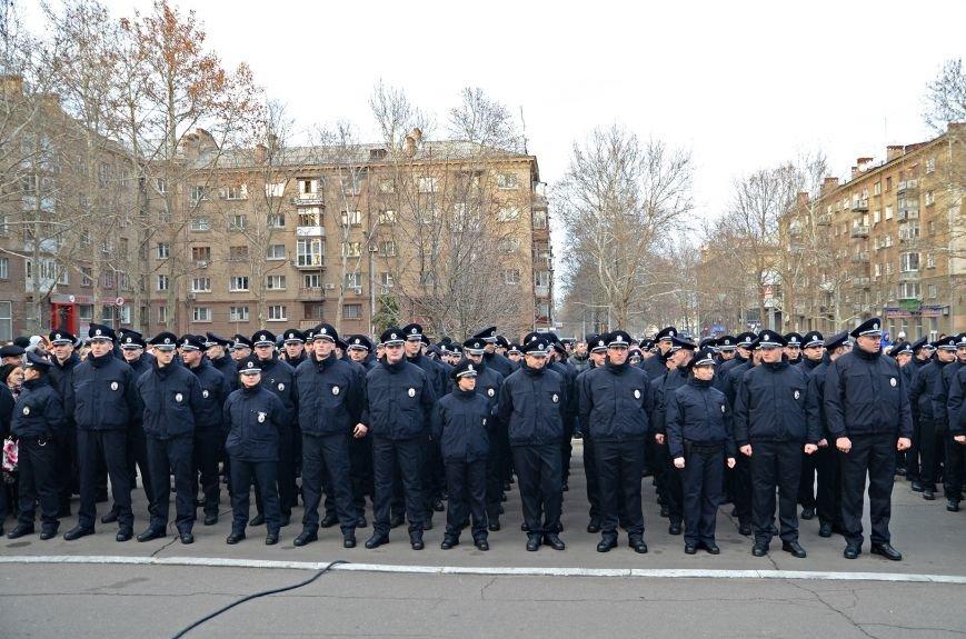 Николаевские полицейские приняли присягу под звуки гимна и возгласы «Слава Украине!» (ФОТО+ВИДЕО), фото-6