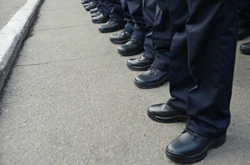 Николаевские полицейские приняли присягу под звуки гимна и возгласы «Слава Украине!» (ФОТО+ВИДЕО), фото-9