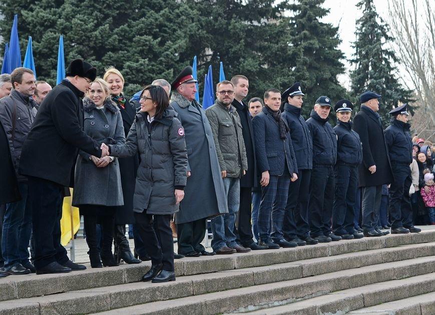 Николаевские полицейские приняли присягу под звуки гимна и возгласы «Слава Украине!» (ФОТО+ВИДЕО), фото-12