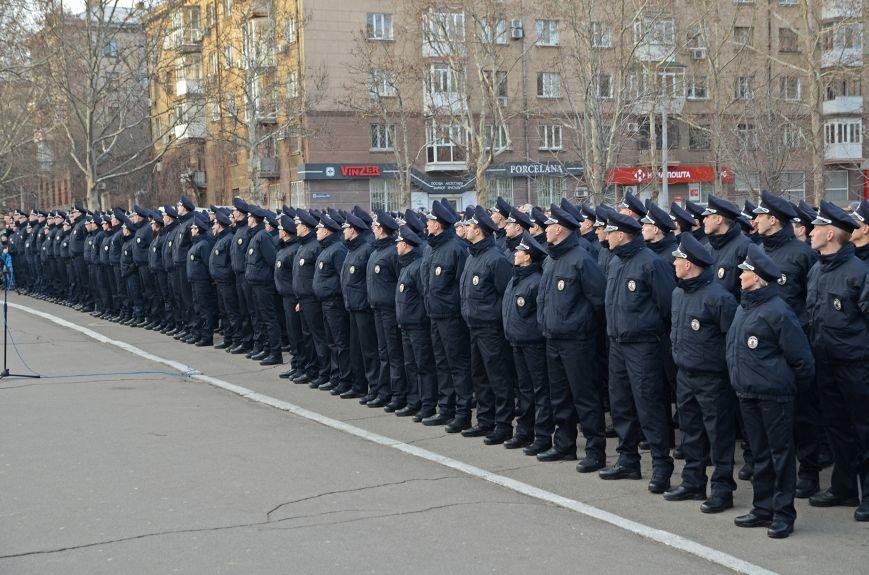Николаевские полицейские приняли присягу под звуки гимна и возгласы «Слава Украине!» (ФОТО+ВИДЕО), фото-11