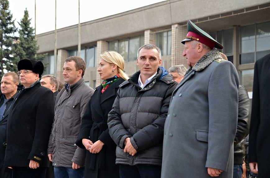 Николаевские полицейские приняли присягу под звуки гимна и возгласы «Слава Украине!» (ФОТО+ВИДЕО), фото-7
