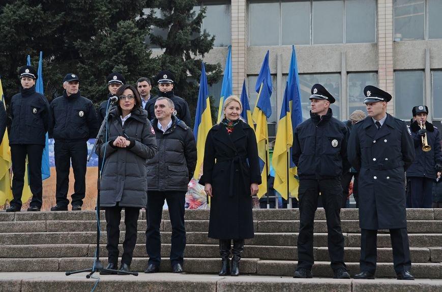 Николаевские полицейские приняли присягу под звуки гимна и возгласы «Слава Украине!» (ФОТО+ВИДЕО), фото-13