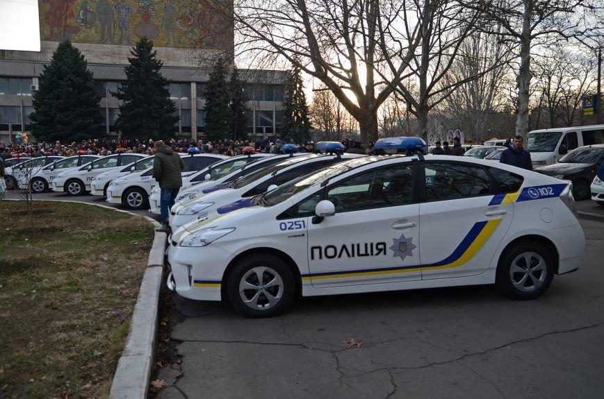 Николаевские полицейские приняли присягу под звуки гимна и возгласы «Слава Украине!» (ФОТО+ВИДЕО), фото-1