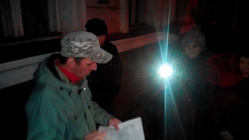 Членам райизбиркомов в Кривом Роге пришлось принимать присягу и заполнять документы на улице (ФОТО), фото-4