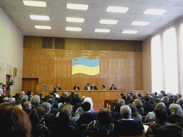 В Долгинцевском районе  депутаты не смогли избрать председателя райсовета (ФОТО), фото-5
