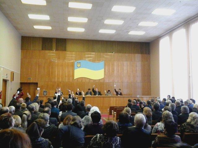 В Долгинцевском районе  депутаты не смогли избрать председателя райсовета (ФОТО), фото-4