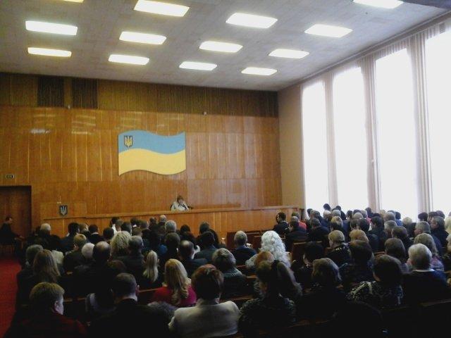 В Долгинцевском районе  депутаты не смогли избрать председателя райсовета (ФОТО), фото-1