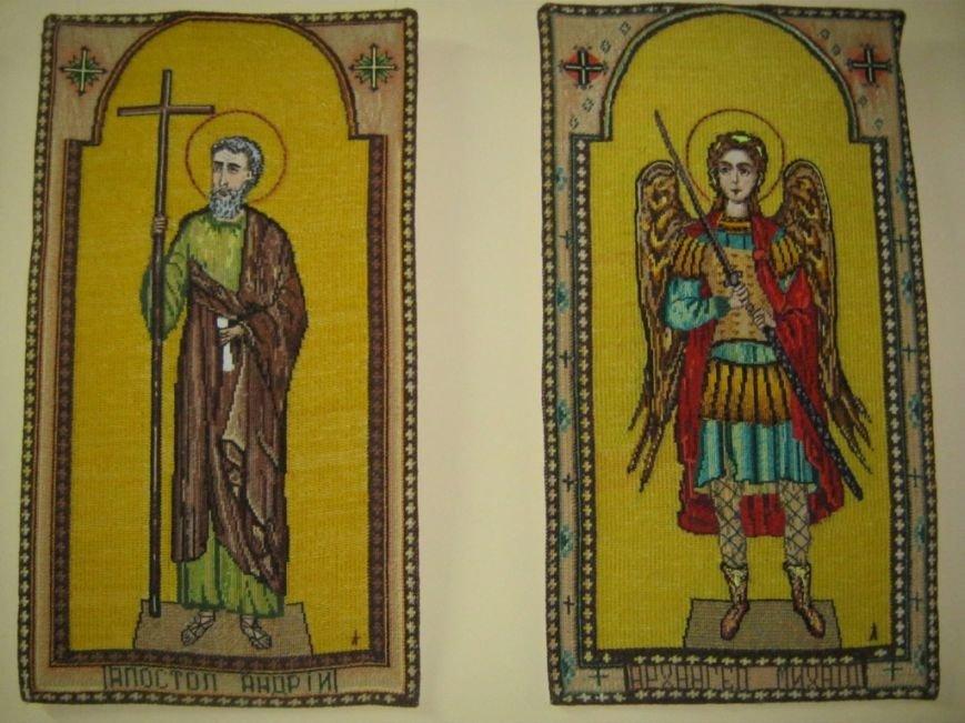 В Чернигове открылась выставка вышитых икон, фото-4