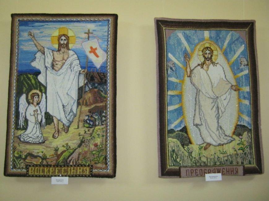 В Чернигове открылась выставка вышитых икон, фото-2