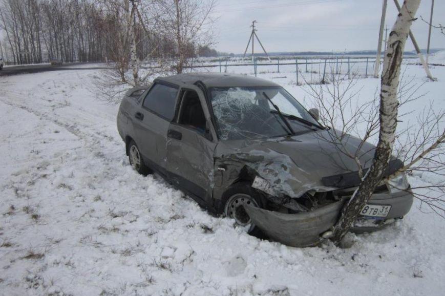 Под Белгородом водитель БМВ вылетел на «встречку» и протаранил две машины (фото) - фото 2