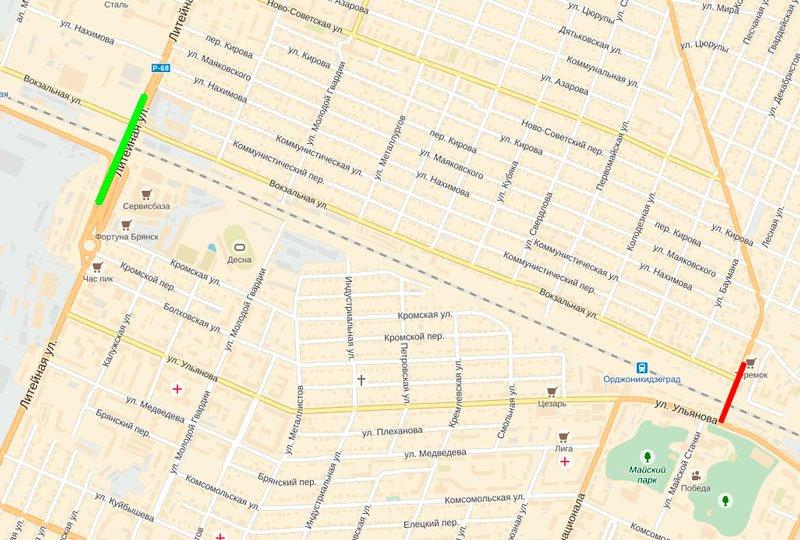 В Брянске закроют движение на двух переездах (фото) - фото 2