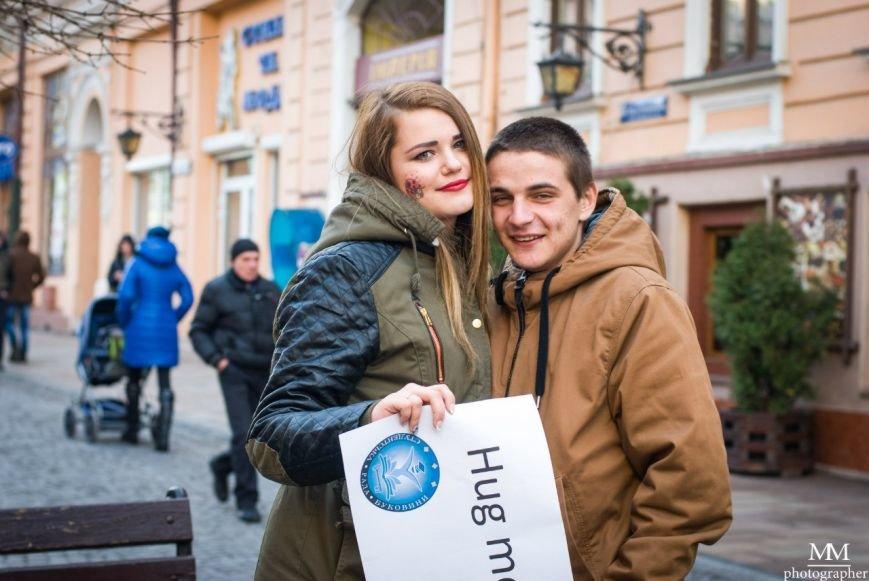 Чернівецькі студенти пообіймалися від душі. (фото) - фото 1