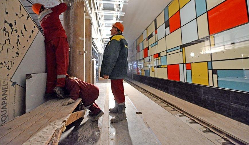 Строительство первых станций метро в Новой Москве находится в завершающей стадии (ФОТО) (фото) - фото 1