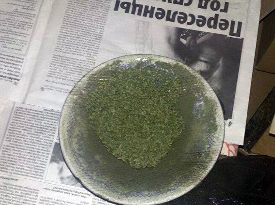 В Краматорске изъяли партию каннабиса стоимостью 250 тысяч гривен (фото) - фото 1