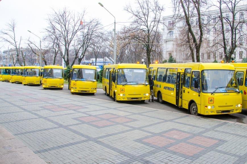 Днепропетровщина получила 35 новых школьных автобусов (ФОТО) (фото) - фото 5