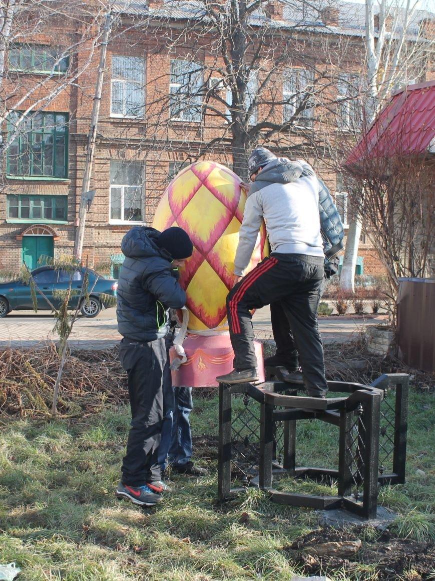В Артемовске-Бахмуте установили символы единой Украины (ФОТО), фото-5