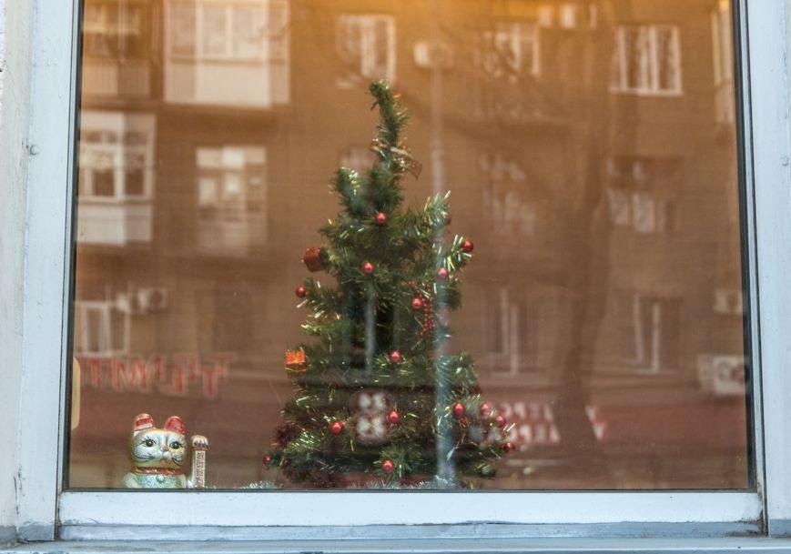 cf25326053843bb18543183303422669 Витрины одесских магазинов украсили ёлки