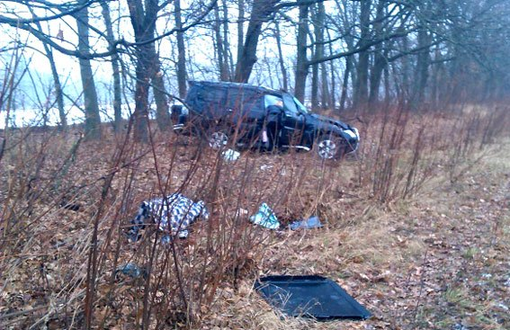 На Полтавщине в результате ДТП погибли двое граждан, ещё двое травмированы (ФОТО) (фото) - фото 1
