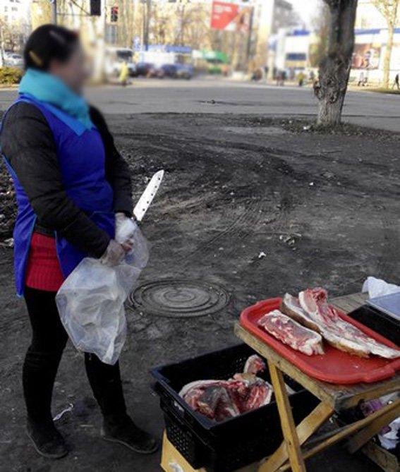 В Кировограде пытаются остановить незаконную торговлю мясом (ФОТО) (фото) - фото 1