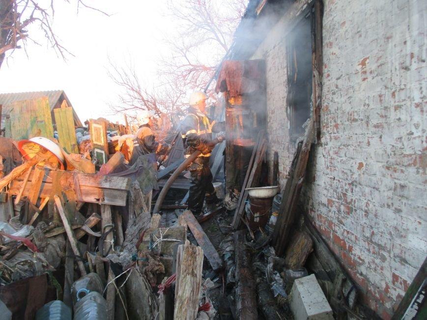 Пожар в Песчаном: вместе с домом сгорела пенсионерка (фото и видео), фото-5