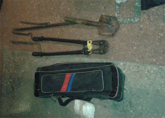 На Кировоградщине полицейские поймали вора (ФОТО) (фото) - фото 1