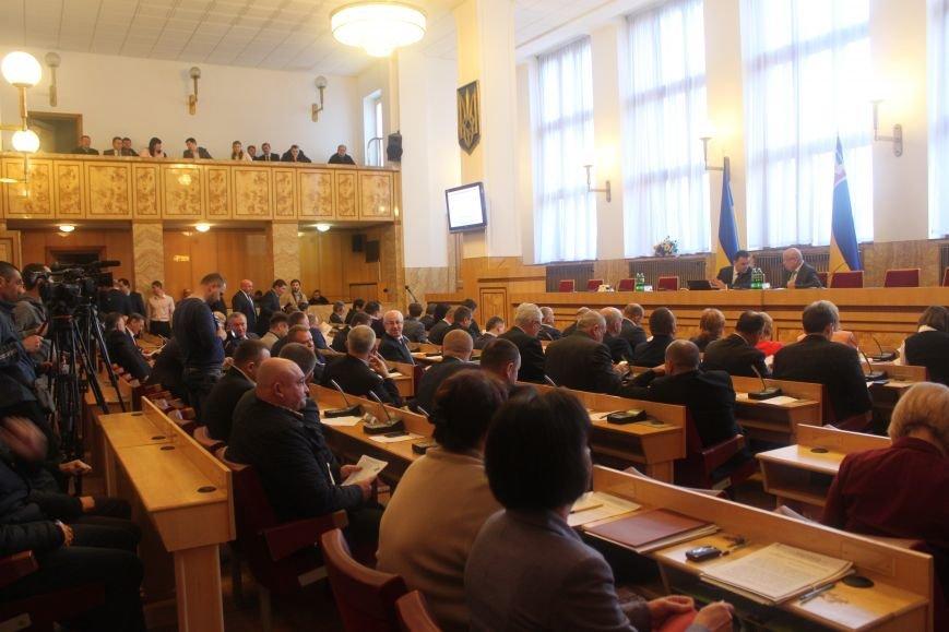 В  Ужгороді розпочалася сесія обласної ради, фото-2