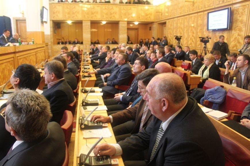 В  Ужгороді розпочалася сесія обласної ради, фото-4