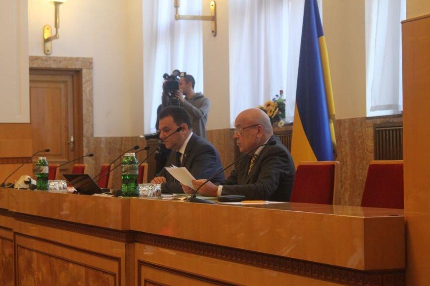 В  Ужгороді розпочалася сесія обласної ради, фото-3