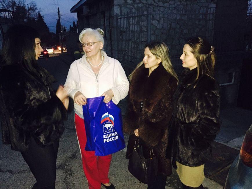 Единороссы и молодогвардейцы осуществили объезд социально незащищенной категории граждан, фото-1