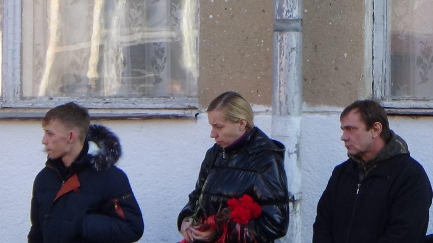 Открытие мемориальной доски памяти Василия Пыхтеева (+фото) (фото) - фото 2
