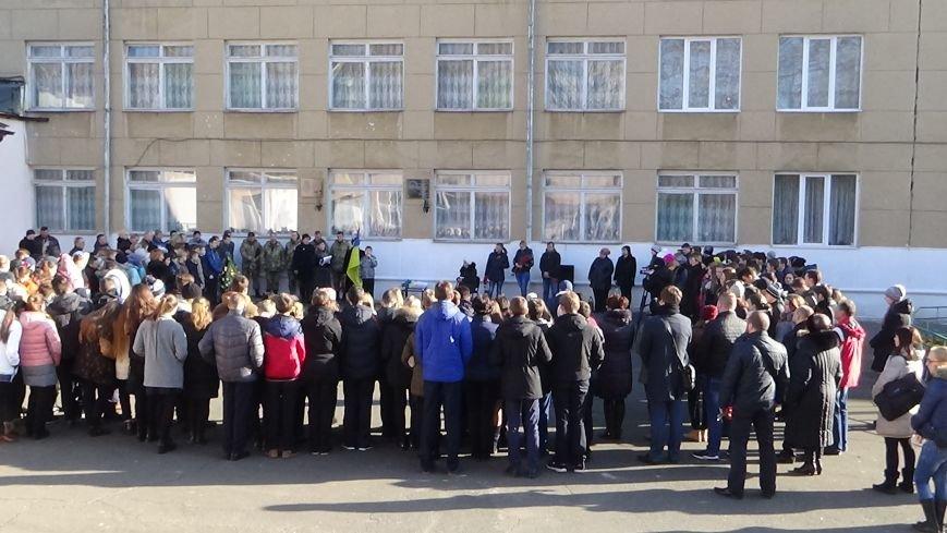 Открытие мемориальной доски памяти Василия Пыхтеева (+фото) (фото) - фото 3