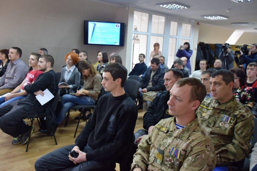 В Николаеве провели ярмарку вакансий для участников АТО (ФОТО) (фото) - фото 1