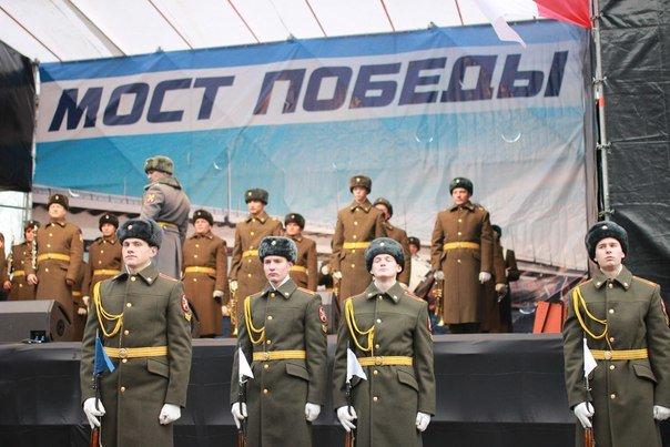 Ветераны Великой Отечественной первыми проехали по