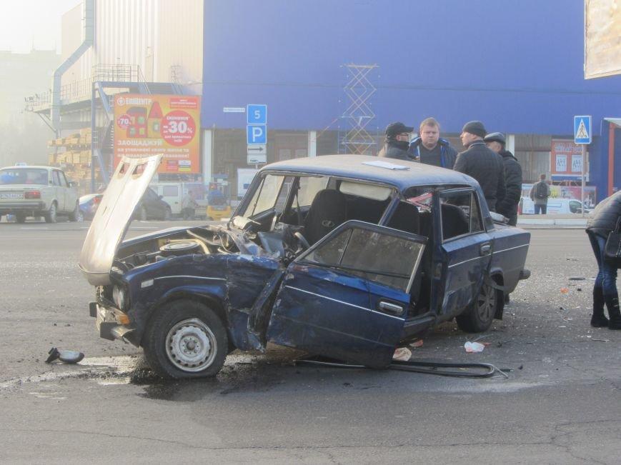 ДТП в Днепропетровске: столкнулись Toyota Prado и ВАЗ 2106 (ФОТО), фото-3