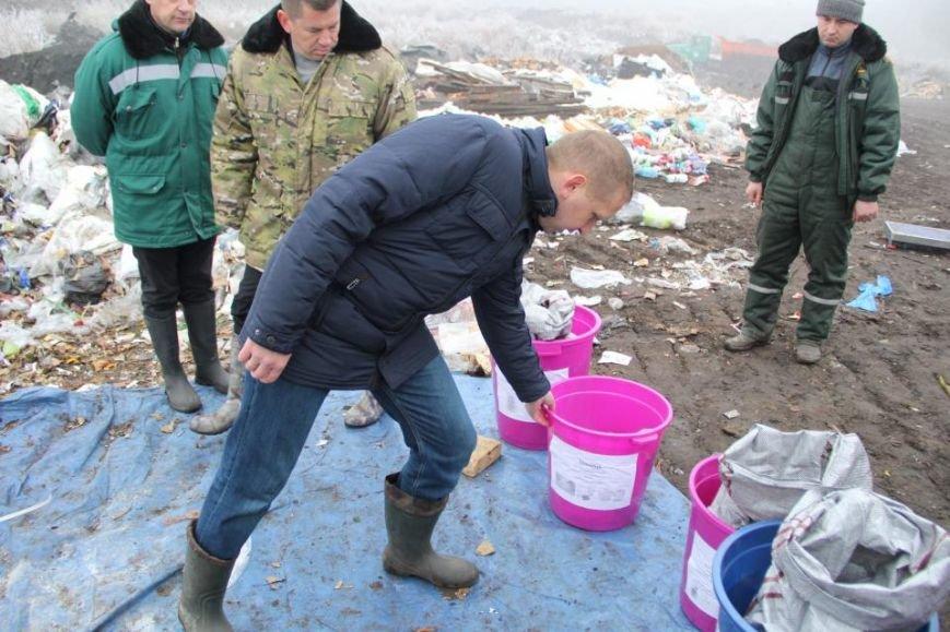 Очередной проект на Деевской горе: кременчугский мусор теперь будут сортировать (фото) - фото 1