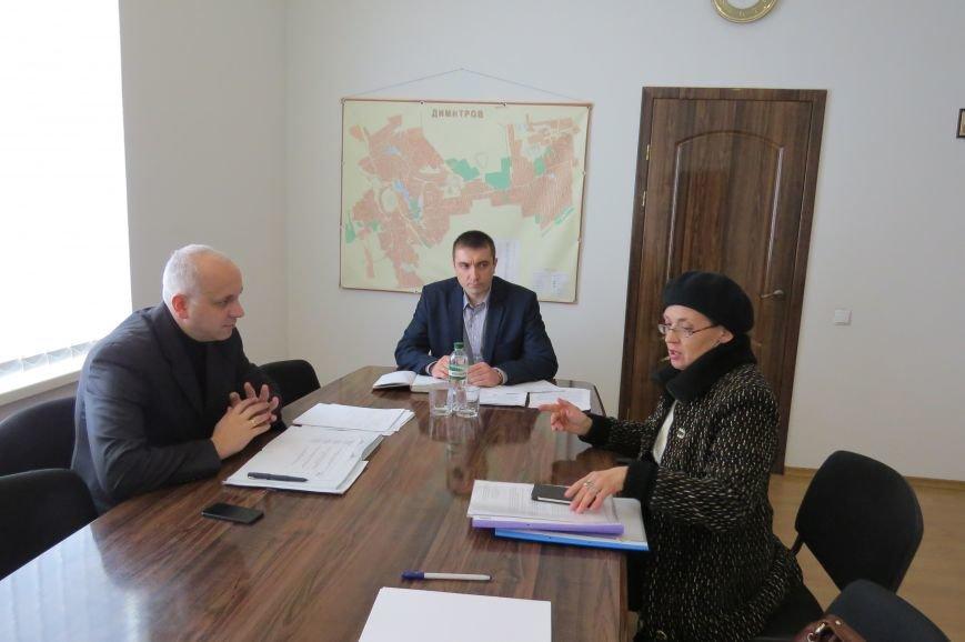 Представитель руководства ГУ НП в Донецкой области пообщался с жителями Димитрова (фото) - фото 4