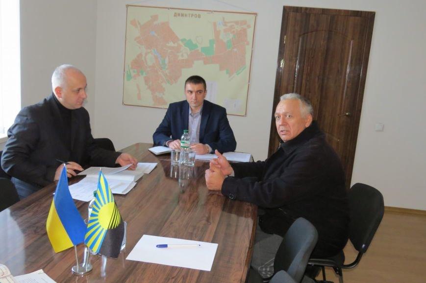 Представитель руководства ГУ НП в Донецкой области пообщался с жителями Димитрова (фото) - фото 3