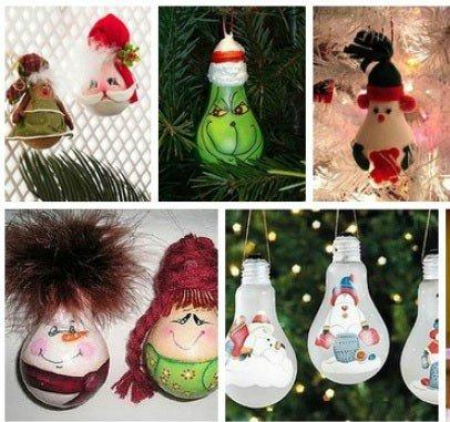 Новогодние игрушки своими руками для жителей Новограда, фото-3