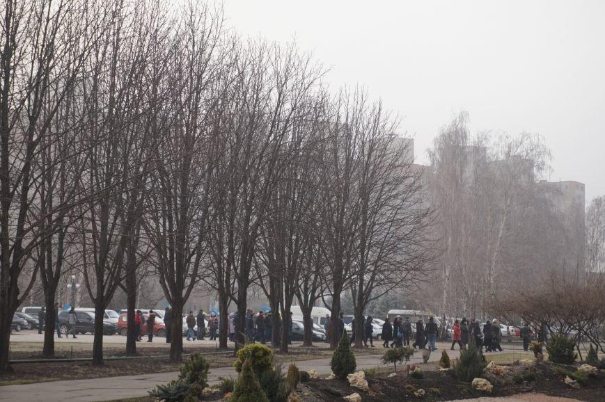 В поддержку Юрия Вилкула на митинг привезли представителей профсоюзов и спортивных федераций (ФОТО) (фото) - фото 1