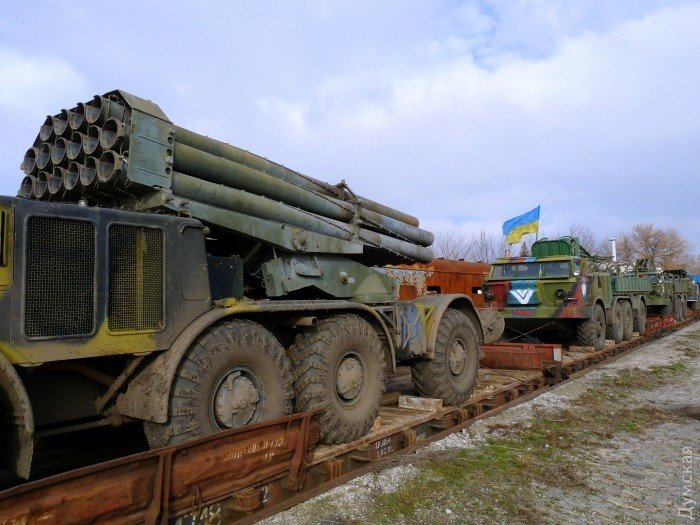 В Одессу прибыли «Грады» и «Ураганы» для укрепления береговой оборон (фото) - фото 4