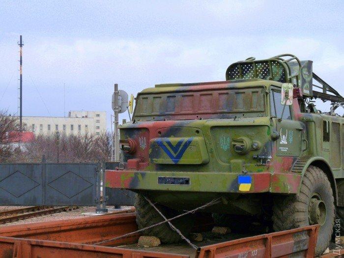 В Одессу прибыли «Грады» и «Ураганы» для укрепления береговой оборон (фото) - фото 2