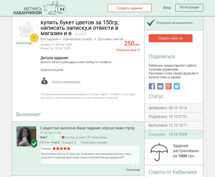 Метнись Кабанчиком - новий сервіс, що допомагає шукати підробіток у Хмельницькому (фото) - фото 2