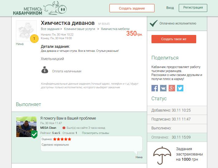 Метнись Кабанчиком - новий сервіс, що допомагає шукати підробіток у Хмельницькому (фото) - фото 3
